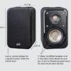 POLK AUDIO S10.11 ηχείο ραφιού