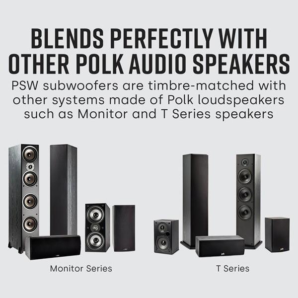 Polk Audio Ηχείο Subwoofer PSW10E