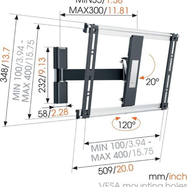 THIN 425 ExtraThin Full-Motion TV Wall Mount