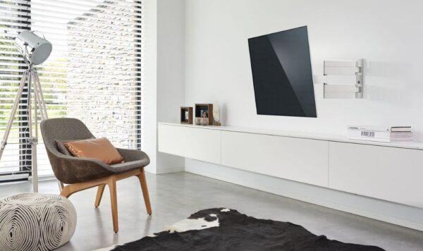 Vogel's THIN 445 ExtraThin Full-Motion TV Wall Mount (white) room