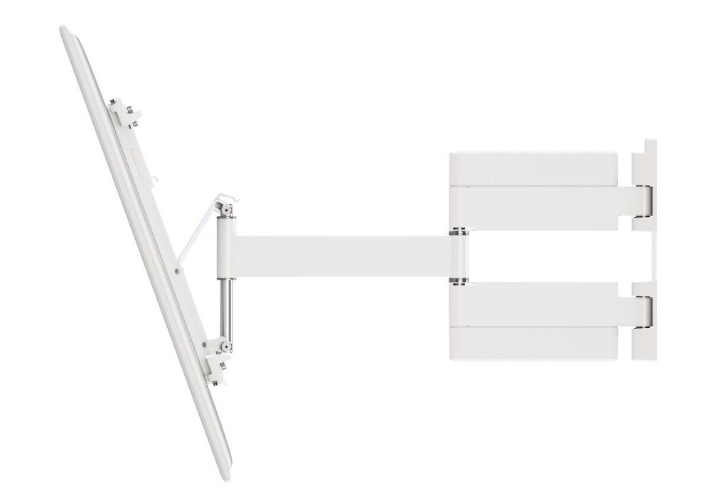 Vogel's THIN 445 ExtraThin Full-Motion TV Wall Mount (white)_sideview