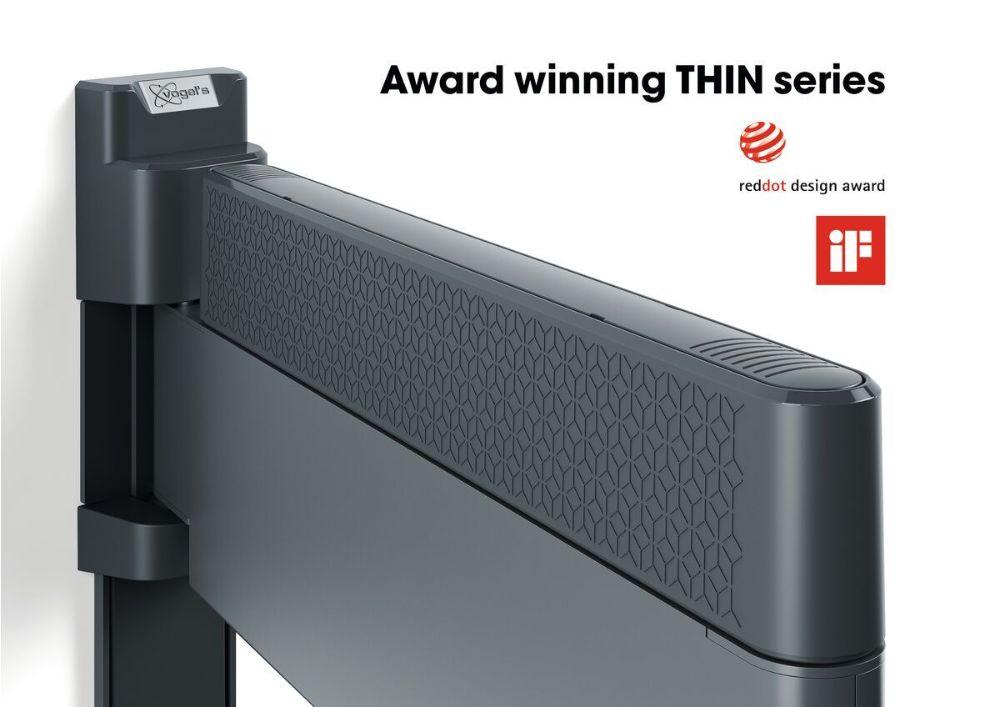 Vogel's THIN 545 ExtraThin Full-Motion TV Wall Mount design