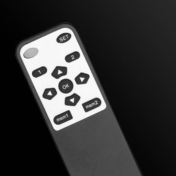 "Lithe Audio Remote Control Motorised 90 Deg Wall Mount 32-60"".3"