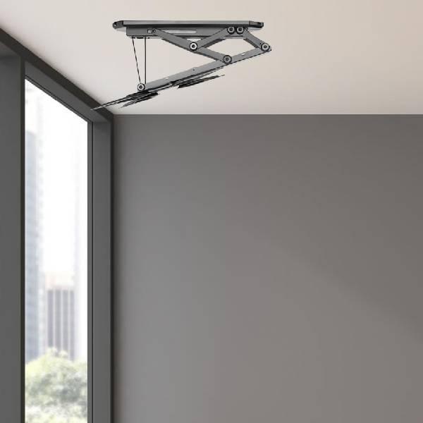 Lithe Audio Remote Control Motorized Flip Down Ceiling Mount 23''-55''