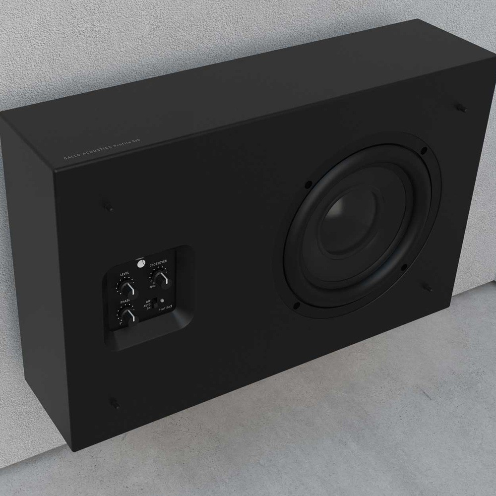 ProfileSub on-wall subwoofer
