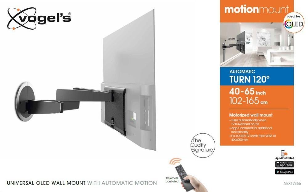 MotionMount NEXT 7356 Full-Motion Motorised TV Wall Mount ideal for OLED TVs