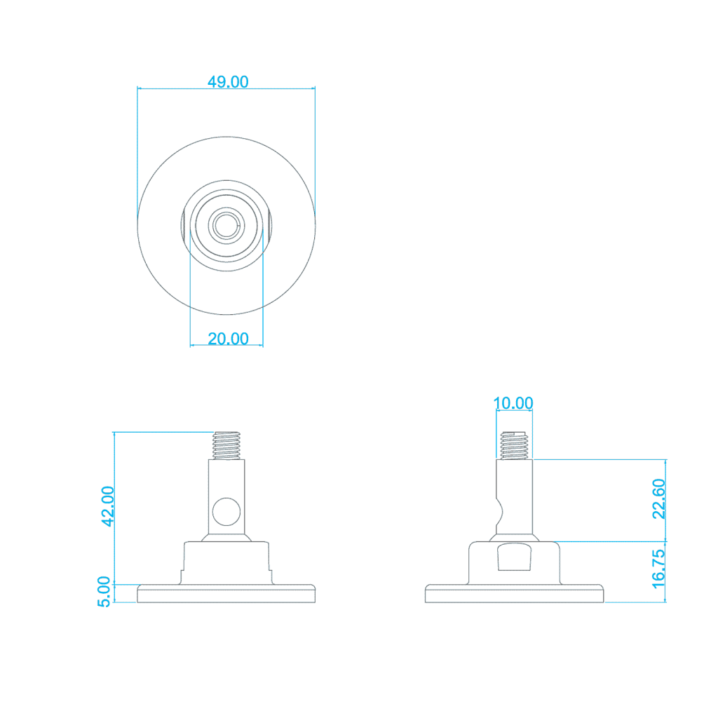 MICRO / A'DIVA WALL MOUNT – SINGLE