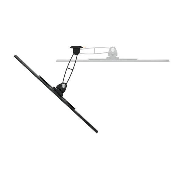 W52060 Βάση Τοίχου Τηλεόρασης με Πλήρης κίνηση (μαύρη)