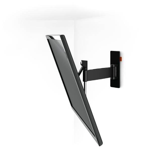 W52080 Μαύρη Βάση Τοίχου Τηλεόρασης Πλήρους κίνησης1
