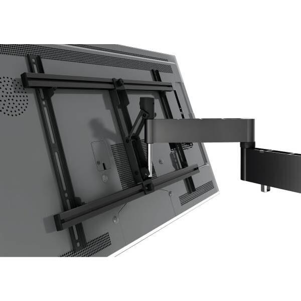 W53081 Άσπρη Βάση Τοίχου Τηλεόρασης Πλήρους κίνησης Μια κομψή βάση τοίχου τηλεόρασης που ταιριάζει στις περισσότερες τηλεοράσεις και στο εσωτερικό στυλ.