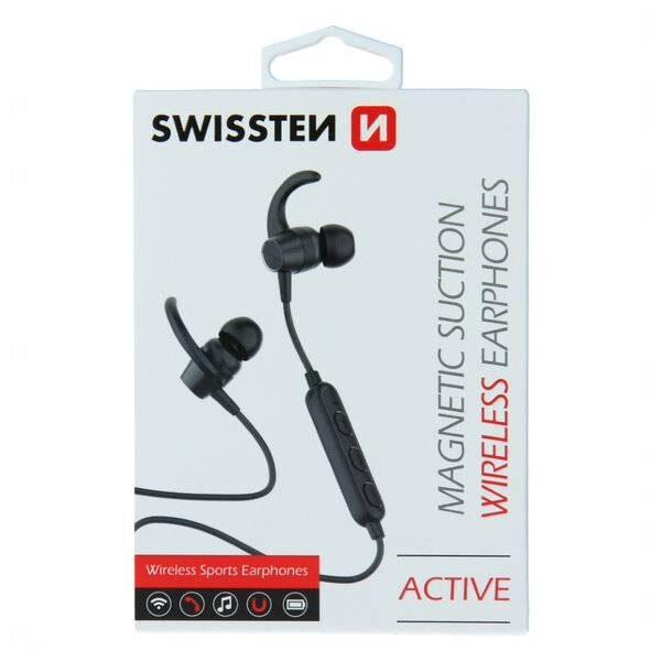 BLUETOOTH EARPHONES SWISSTEN ACTIVE BLACK3