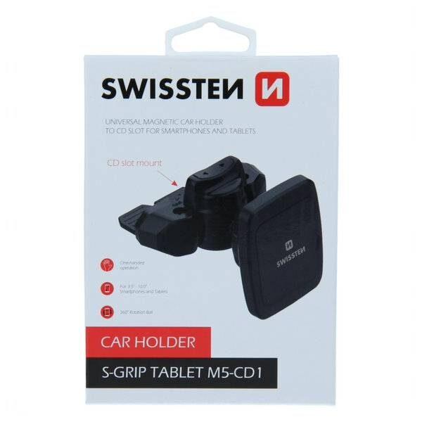 MAGNETIC CAR HOLDER FOR TABLET SWISSTEN S-GRIP M5-CD15