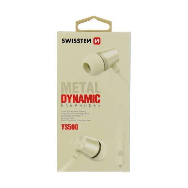 SWISSTEN EARBUDS DYNAMIC YS500 GOLD4