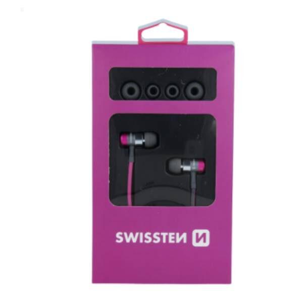 Swissten Ακουστικά Superbass YS900 - pink1