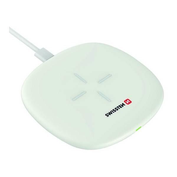 Swissten Ασύρματος Φορτιστής 10W- Λευκός3
