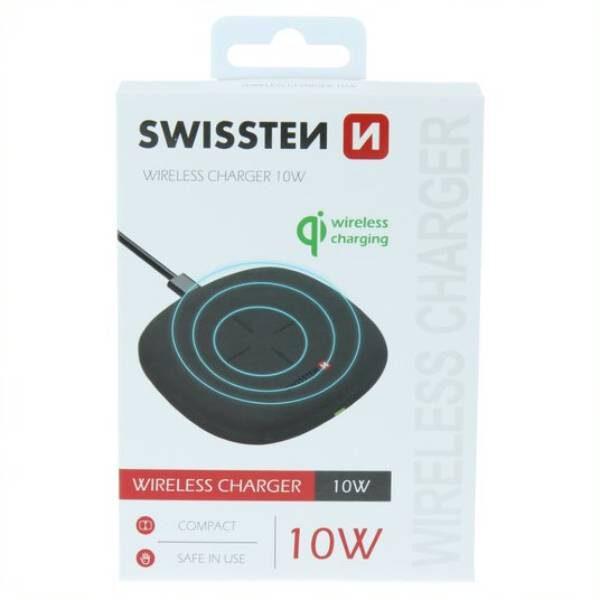 Swissten Ασύρματος Φορτιστής 10W- Μαύρος3