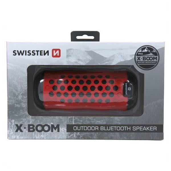 Swissten Bluetooth ηχείο X-Boom - Κόκκινο2