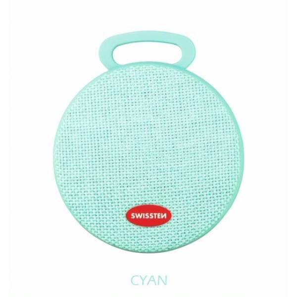 Swissten Bluetooth ηχείο X-Style - Cyan