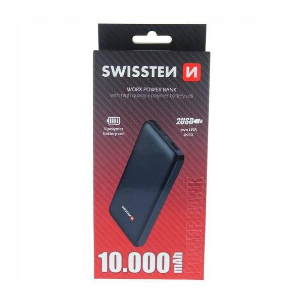 Swissten Worx Power Bank 10000 mAh2