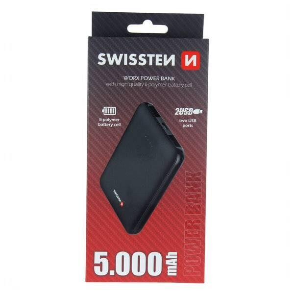 Swissten Worx Power Bank 5000 mAh2