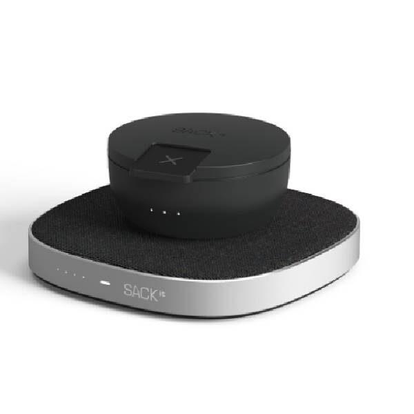 CHARGEit Care powerbank και ασύρματος φορτιστής Qi - Μαύρο2