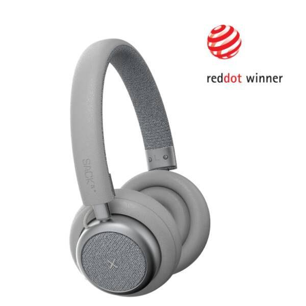 TOUCHit Ακουστικά On-Ear - Ασημί2