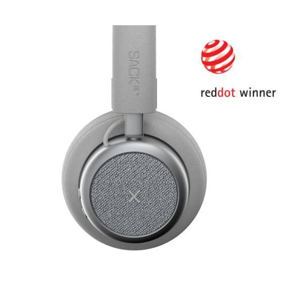 TOUCHit Ακουστικά On-Ear - Ασημί3