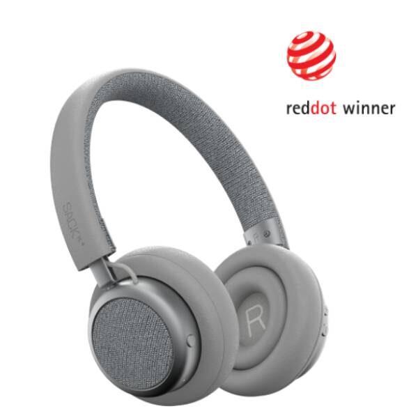 TOUCHit Ακουστικά On-Ear - Ασημί5