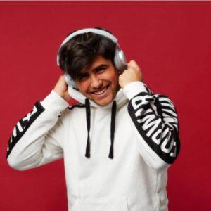 TOUCHit Ακουστικά On-Ear - Ασημί7