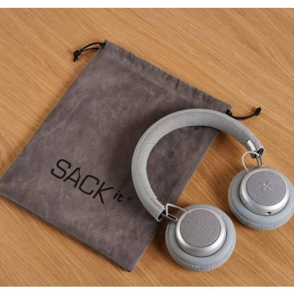 TOUCHit Ακουστικά On-Ear - Ασημί8