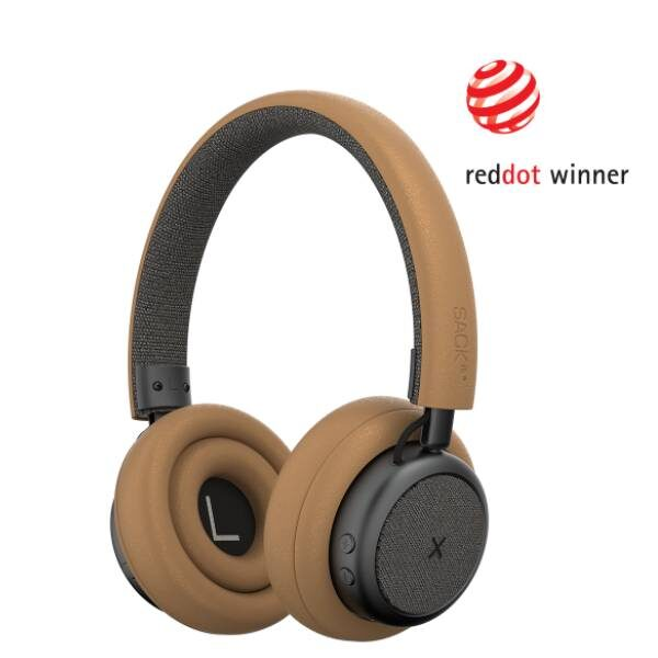 TOUCHit Ακουστικά On-Ear - Χρυσά