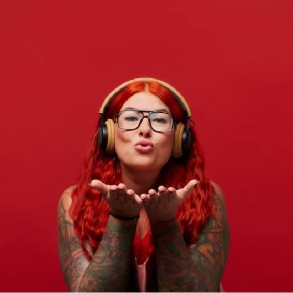 TOUCHit Ακουστικά On-Ear - Χρυσά6