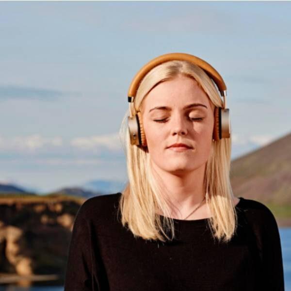 WOOFit Ακουστικά Bluetooth - Χρυσά1