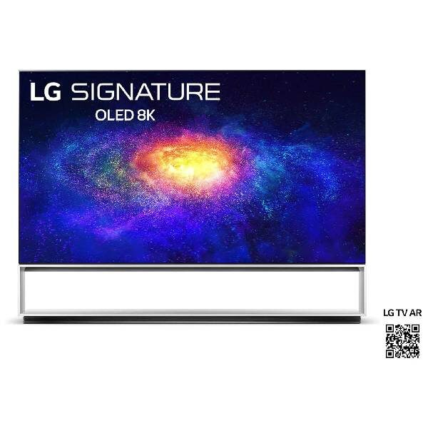 LG OLED88ZX9LA 88'' TV 8K Έξυπνος Επεξεργαστής α9 3ης γενιάς