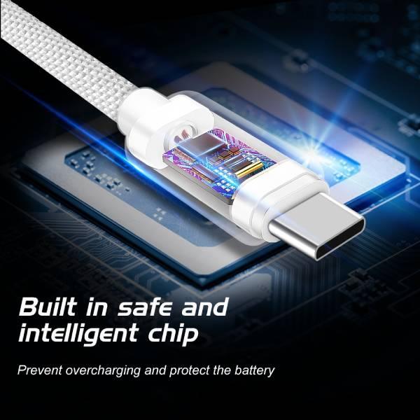 Swissten Καλώδιο Δεδομένων Textile USB USB-C