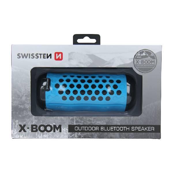 Swissten Bluetooth ηχείο X-Boom - Μπλέ2