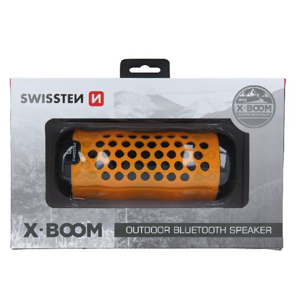 Swissten Bluetooth ηχείο X-Boom - Πορτοκαλί2