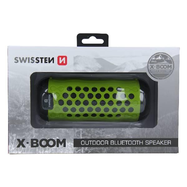 Swissten Bluetooth ηχείο X-Boom - Lime2