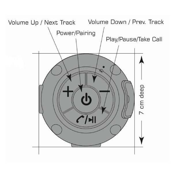 Swissten Bluetooth ηχείο X-Boom