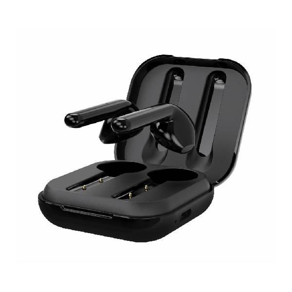 Swissten TWS Bluetooth Ακουστικά Flypods Μαύρα