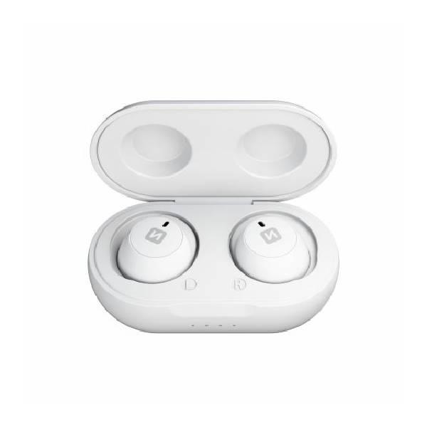 Swissten TWS Bluetooth Ακουστικά Stonebuds Άσπρα2