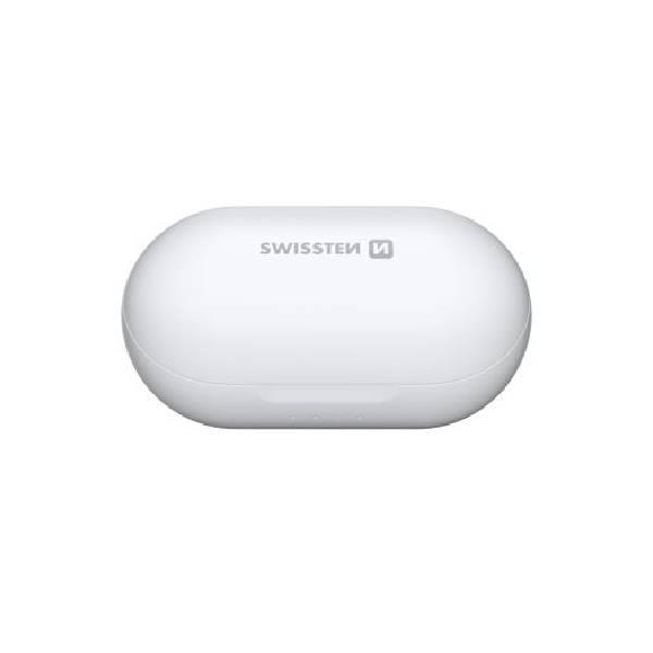 Swissten TWS Bluetooth Ακουστικά Stonebuds Άσπρα5