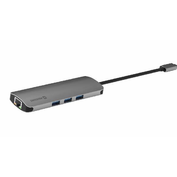 Swissten USB-C HUB 8-IN-1γ