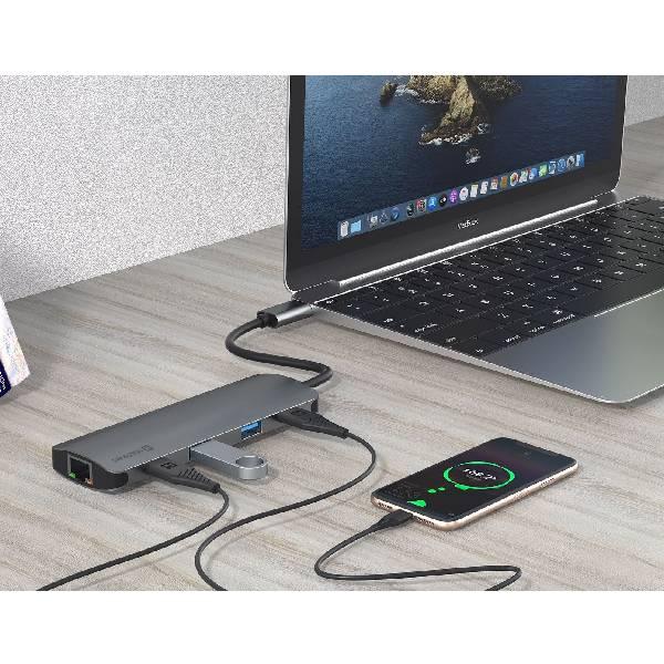 Swissten USB-C HUB 8-IN-1ε