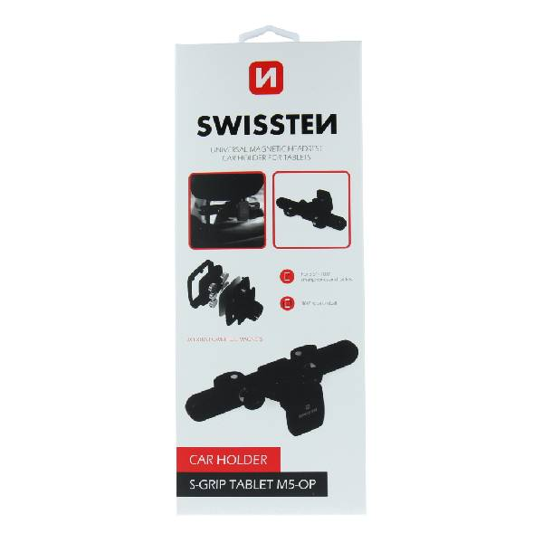 Μαγνητική Swissten βάση αυτοκινήτου για Tablet S-GRIP M5-OP-7