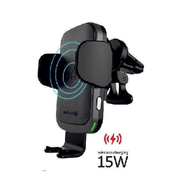 Swissten Βάση Αυτοκινήτου με ασύρματο φορτιστή S-GRIP W2-AV5α