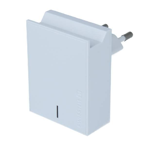 Swissten Φορτιστής Ταξιδιού Smart IC με 2x USB ισχύος 3A + Καλώδιο Δεδομένων USB- MICRO USB 1.2m Λευκό-1