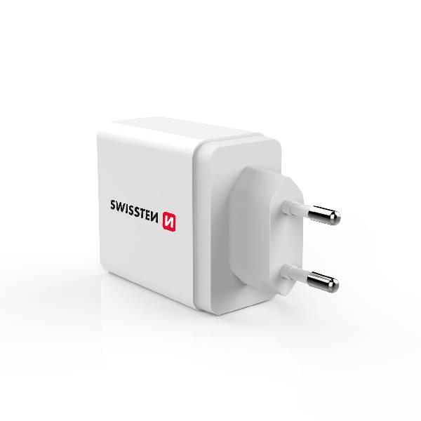 Swissten Φορτιστής ταξιδίου Power delivery USB-C 18W ισχύος-3