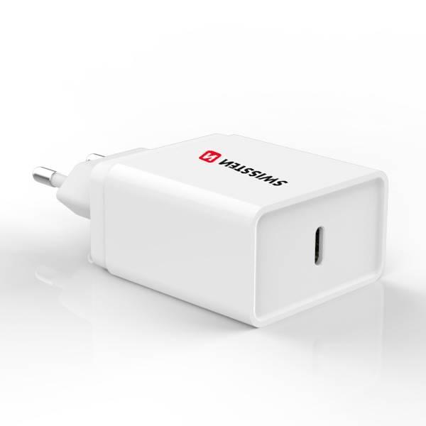 Swissten Φορτιστής ταξιδίου Power delivery USB-C 18W ισχύος-4