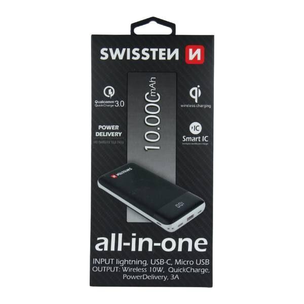 Swissten All-in-one Power Bank 10000 mAh